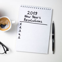 2019 New Year's Resolution