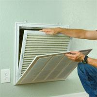 Vents airflow